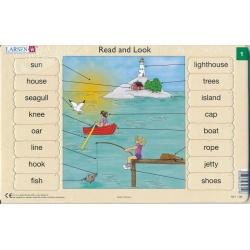 Puzzle Larsen - Angličtina - slovíčka 01