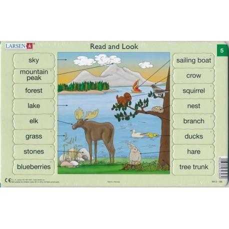 Puzzle Larsen - Angličtina - slovíčka 05