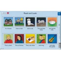 Puzzle Larsen - Angličtina - krátký text 11