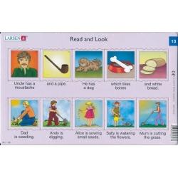 Puzzle Larsen - Angličtina - krátký text 13