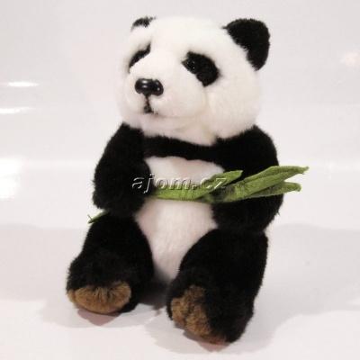 Plyšová Panda s listem