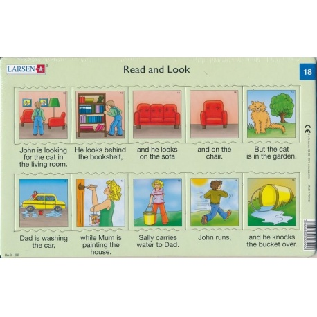 Puzzle Larsen - Angličtina - krátký text 18