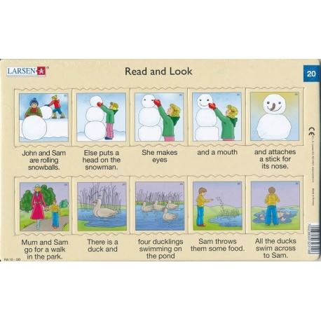 Puzzle Larsen - Angličtina - krátký text 20