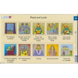 Puzzle Larsen - Angličtina - krátký text 19