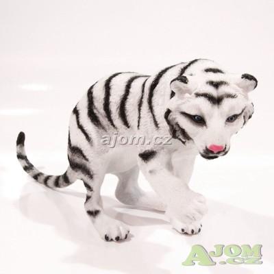 Figurka velká - bílý tygr