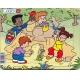 Puzzle Larsen - Děti si hrajou - pískoviště