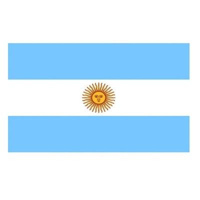 Vlajka Argentina 150 x 90 cm