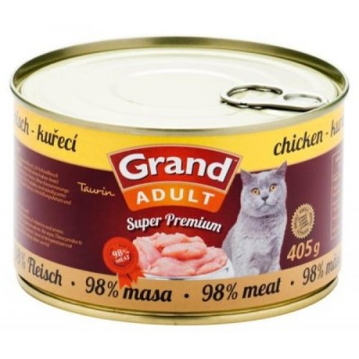 GRAND SuperPremium Kuřecí CAT 405g