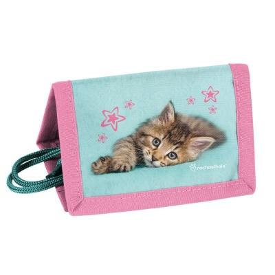 Dětská textilní peněženka Kočka