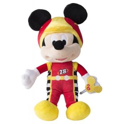 Plyšový Mickey Rázný závodník - se zvukem - Disney