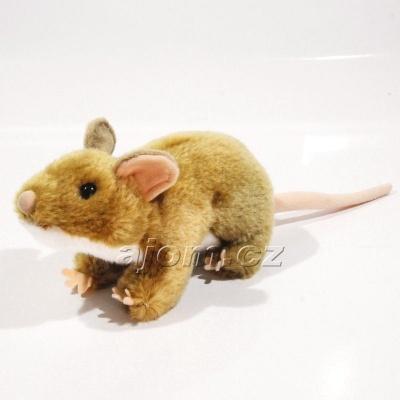 Plyšová Krysa - hnědá