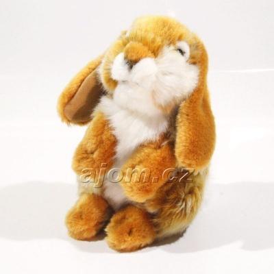 Plyšový Zajíc - hnědý