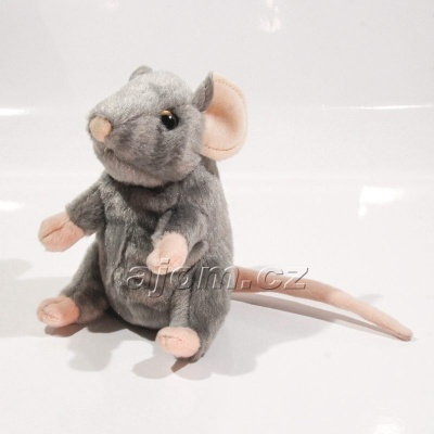 Plyšová Myška - šedá