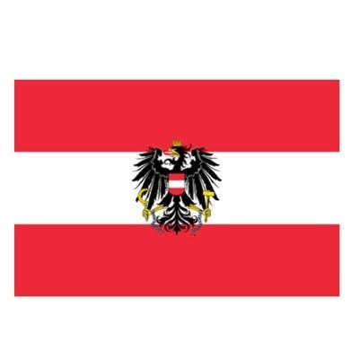 Vlajka Rakousko 150 x 90 cm