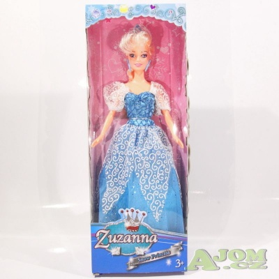 Panenka Ledová princezna 30cm modrá