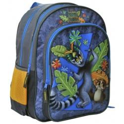 Školní dvoukomorový batoh King Julien - Král Jelimán
