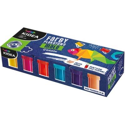 Temperové barvy 12 barev 10ml
