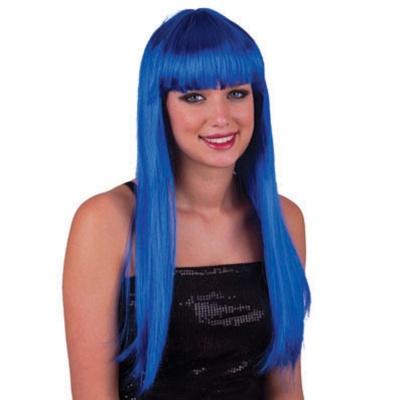 Paruka - modrá