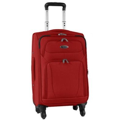 Cestovní kufr červený PREMIUM - vhodný jako příruční zavazadlo