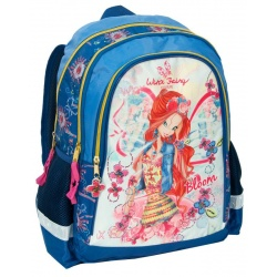 Školní dvoukomorový batoh Winx Fairy Couture