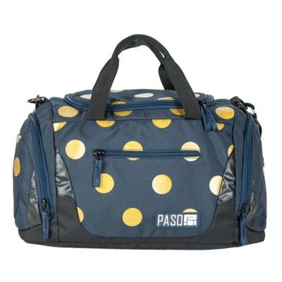 Sportovní cestovní taška Unique Yellow Dots