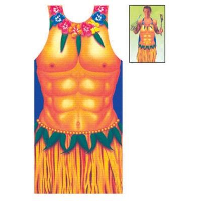 Zástěra - havaj - muž