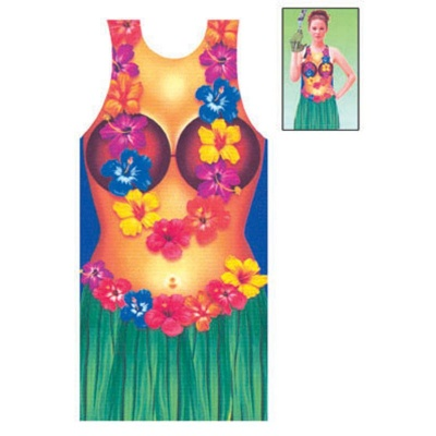 Zástěra - havaj - žena