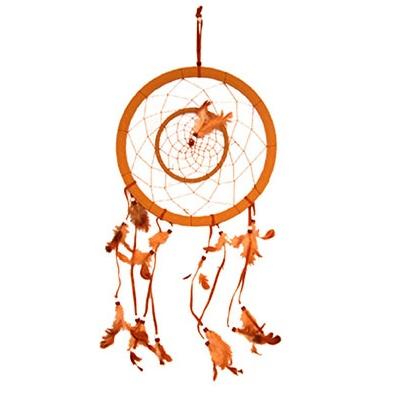 Dekorace lapač snů - indián