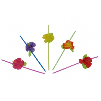 Brčka s květy 12 ks