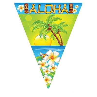 Vlajková girlanda Aloha Havaj - 5 m