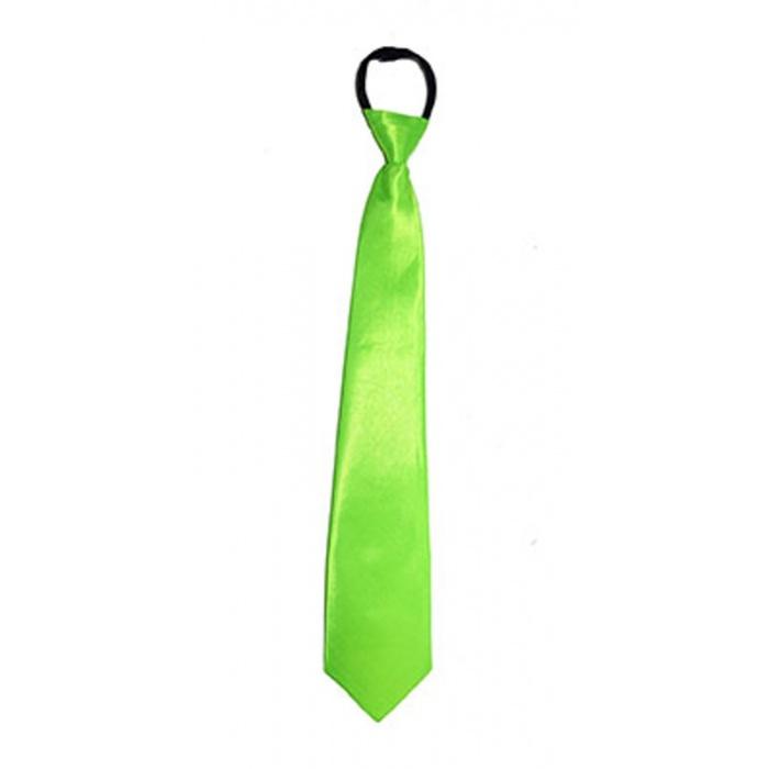 Kravata neon - zelená