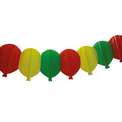 Plastová girlanda - balónky 4m