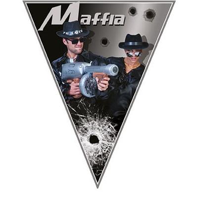 Girlanda vlajková Mafie - 5 m