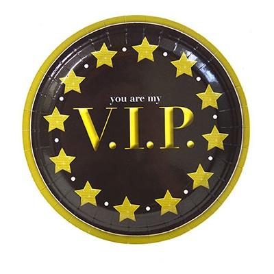 Papírové talíře VIP 8ks