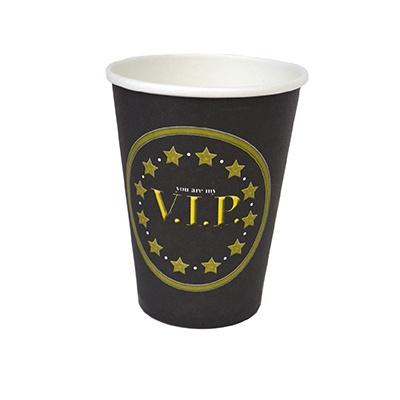 Papírové kelímky VIP 8ks