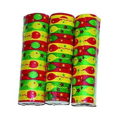 Papírové konfety - serpentýny balónky