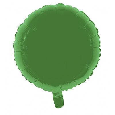 Foliový balónek - kulatý zelený