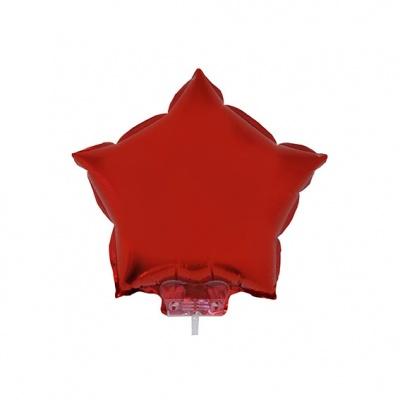 Foliový balónek - hvězda červená