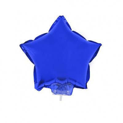 Foliový balónek - hvězda modrá