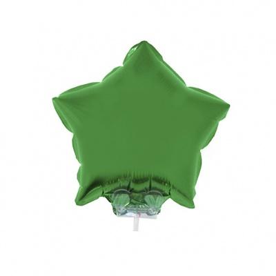 Foliový balónek - hvězda zelená