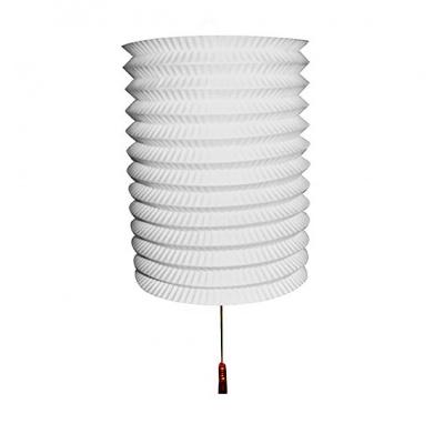 Papírový lampion bílý