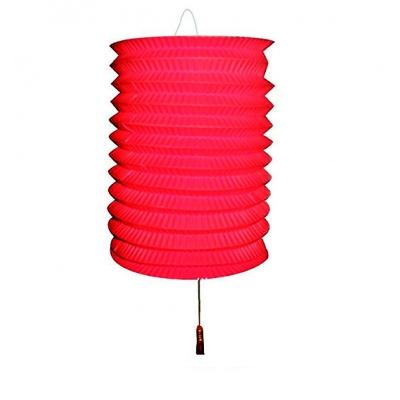 Papírový lampion na svíčku - červený