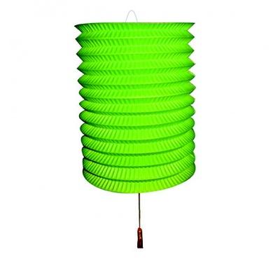 Papírový lampion na svíčku - zelený