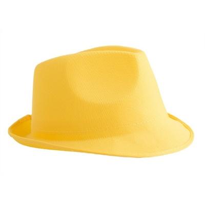 Klobouk neon žlutý