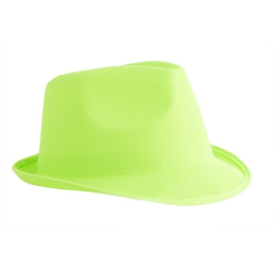 Klobouk neon - zelený