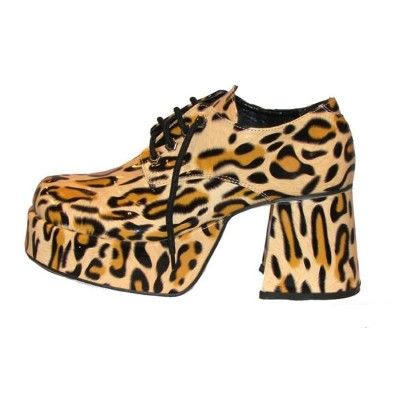 Boty retro - leopard