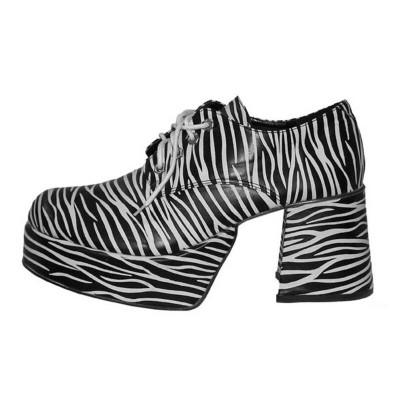 Boty retro - zebra