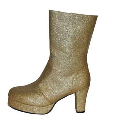 Boty retro - zlaté