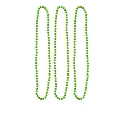 Náhrdelníky neon 3 ks - zelené
