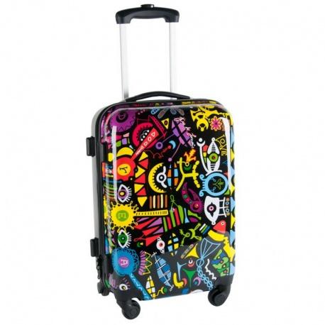 Cestovní kufr DREAM BIG černý střední